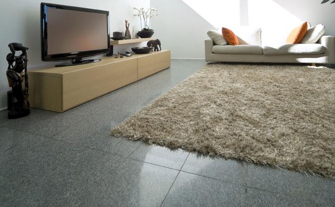 Il granito nel salotto di casa