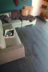 Pavimento in ardesia per il soggiorno