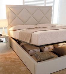 Il pavimento della camera da letto