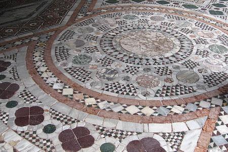 Casa moderna, Roma Italy: Pavimenti a mosaico per interni