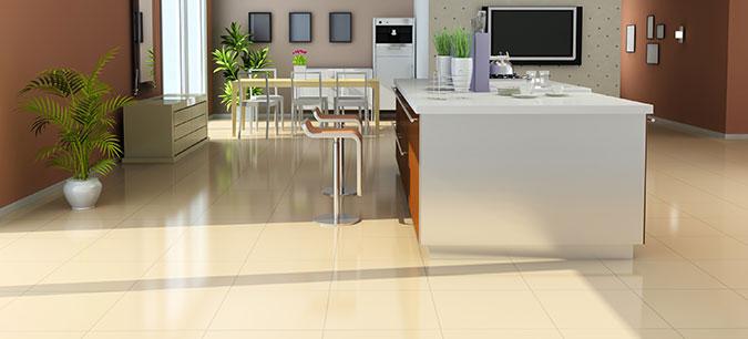 Pavimento adatto per la cucina
