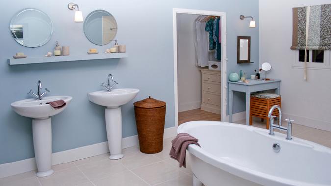 Tipi di materiali per i pavimenti della bagno - Pavimento e rivestimento bagno uguale ...