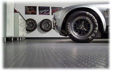 Pavimento in gomma per garage design casa creativa e mobili