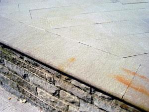pietra arenaria pavimento
