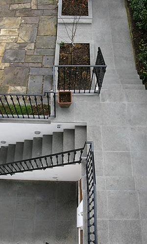 pavimento scale pietra arenaria