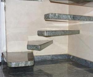 Il pavimento in granito per le scale - Granito per scale ...